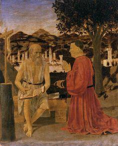 San Girolamo e il donatore Girolamo Amadi, 1440-1450, tempera e resina su tavola, Gallerie dell'Accademia, Venezia
