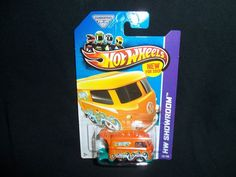 Hot Wheels 2013 Volkswagen Kool Kombi HW Shoowroom 169/250 Orange VW #HotWheels