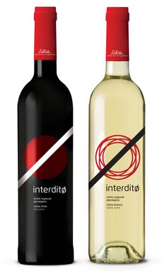 Interdito wine by André Moreira, via Behance