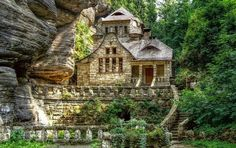 Dream House of the Day: Absolutely Amazing Stonework!