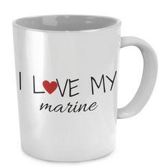 I Love My Marine Coffee Mug ilovemymarinecoffee My Marine, Making Extra Cash, Part Time Jobs, Shop Usa, Romantic Gifts, Coffee Mugs, How To Make Money, My Love, Sailor