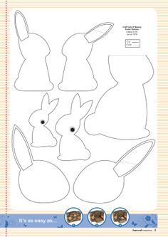 pin97.templates3.jpg (1240×1754) from http://papercraftinspirations.themakingspot.com - bunnies