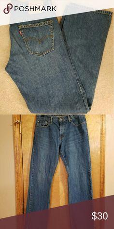 Mens 514 Levi Jeans Stone wash Levi's 34x43 Levi's Jeans Straight Leg