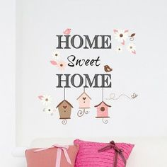 WallPops! Home Decor Line Home Sweet Home Wall Decal
