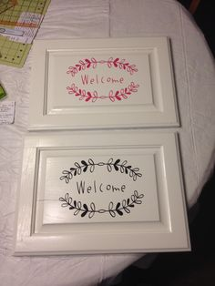 Cricut vinyl projects