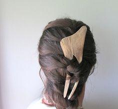 Statement Hairpiece Elk Antler Hair Fork by JCMcCairnsCottage, $78.00