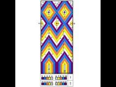 Tapestry Bag, Tapestry Crochet, Beading Patterns, Crochet Patterns, Mochila Crochet, Tablet Weaving, Art N Craft, Crochet Purses, Crochet Videos