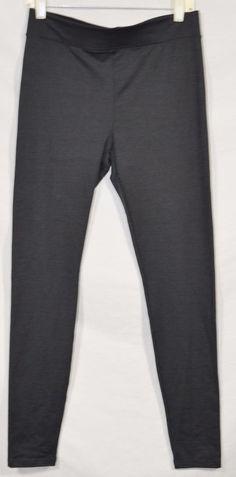 "A NEW DAY Dark Gray Stretch Leggings Pants Medium Inseam 29.5"" Polyester Spandex #ANewDay #Leggings"