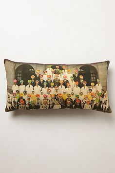 Maharaja Men Pillow | Anthropologie #anthropologie