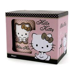 Pöttyös Hello Kitty bögre I Ajándék most webáruház Hello Kitty, Dog Cat, Lunch Box, Kawaii, Cats, Gatos, Bento Box, Cat, Kitty