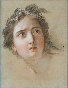 Charles Antoine Coypel, Head of Potiphar's wife