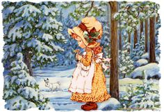 Cosy Home: Holly hobbie and Sarah kay Holly Hobbie, Christmas Scenes, Christmas Art, Gif Fete, Mary May, Illustrations Vintage, I Love Winter, Australian Artists, Pictures To Paint