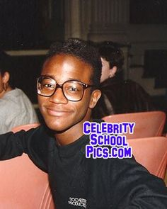 Taye Diggs - Celebrity School Pic