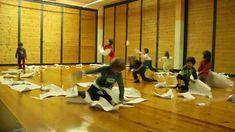Segni mossi, laboratorio di danza-disegno 2