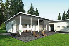 Valoa vuorokauden ympäri – Samuli: 146 m², 5 makuuhuonetta, 1-kerroksinen omakotitalo