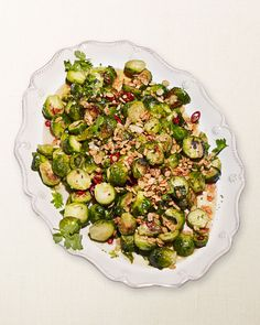 David Chang's Roasted Brussels Sprouts with Asian Vinaigrette Recipe