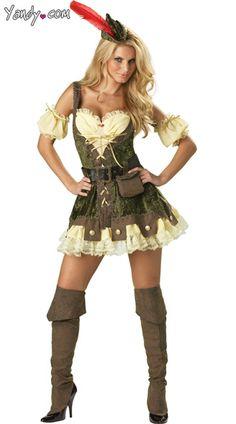 Deluxe Racy Robin Hood Costume