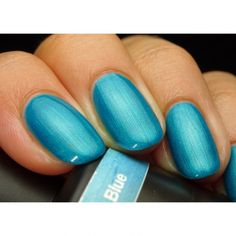 Get Pink Gellac 135 Electric Blue gel nail polish colour at www.pinkgellac.co.uk