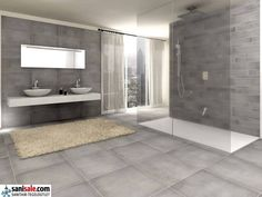Teak & Living Waskom 30 cm hardstenen | Industriële badkamers ...