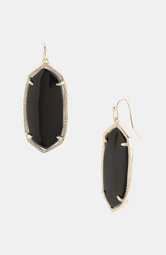 Kendra Scott in Black.