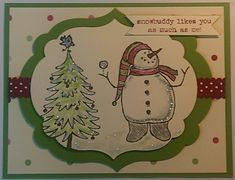 Snow Much Fun by dmarcil - Cards and Paper Crafts at Splitcoaststampers