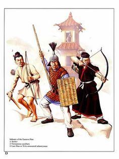 Eastern Han Dynasty Infantry