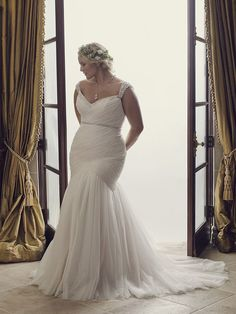 FTW Bridal Wedding Dresses Wedding Dresses Online, Wedding Dress Plus Size, Collection features dresses in all styles as well as more traditional silhouettes. Plus Wedding Dresses, How To Dress For A Wedding, Perfect Wedding Dress, Plus Size Wedding, Full Figure Wedding Dress, Bridal Gowns, Wedding Gowns, Curvy Bride, Dress Plus Size