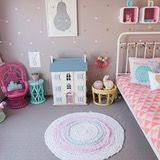 Name: Holly Location: Sunshine Coast, Queensland, Australia I am a children's interior designer (Petite Vintage Interiors) who loves to refinish vintage furniture, so when I found a child-size peacock chair on eBay for $50 I knew I wanted to create an eclectic, colourful and fun space for my three-year-old daughter Holly.