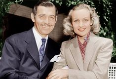 Actor Clark Gable and his wife, Carole Lombard, were considered the Brad Pitt and Angelina Jolie of their time. Description from nypost.com. I searched for this on bing.com/images
