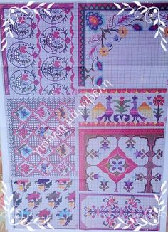Needlepoint, Bohemian Rug, Embroidery, Quilts, Blanket, Rugs, Decor, Seed Stitch, Templates