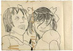 Andy Warhol, early drawing