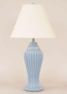 Ridged Pot Lamp