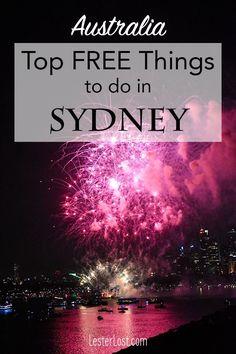 Free Sydney | Visit Sydney | Travel Sydney | Travel Australia | New South Wales | Australia | Sydney | Sydney Harbour | Sydney Harbour Bridge | Free Travel | Free Things To Do | Visit Australia | Sydney Coastal Walks | Sydney Royal Botanical Gardens | Sydney Beaches | Sydney Markets | Sydney Fireworks | Vivid Sydney
