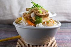 Healthy and Spicy Recipes to Kickstart Your Weight Loss in the New Year: Spicy Tofu and Veggie Stir Fry