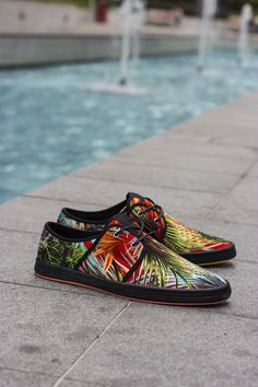 Fish n Chips. Aloha Red. Mens Shoes. Mens Sneakers. Lifestyle. Buy now: http://www.baselondon.com/spam-2-aloha-red