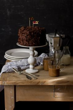 Layer cake au chocolat et praliné by Carnets parisiens