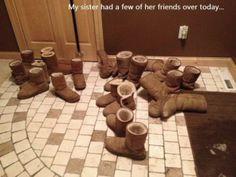 White girl party OMG hahahahaha!