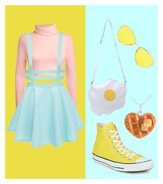 """""""Breakfast!"""" by cjmax on Polyvore featuring Pilot and Converse"""