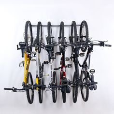Monkey Bars Bike Storage Rack - Store Up to 6 Bikes - Weight Capacity Garage Bike Rack Bicycle Storage Rack, Bike Hooks, Bike Hanger, Monkey Bar Storage, Wall Mount Bike Rack, Sports Storage, Garage Storage, Garage Organization, Easy Storage