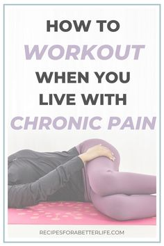 Wondering how to workout with chronic pain? Learn more on the best workouts for chronic pain from somebody who has been through it themselves! Chronic Illness, Chronic Pain, Fibromyalgia Exercise, Workout Videos, Workout Tips, Yoga Videos, Workout Plans, Fitness Workouts, Pain Management