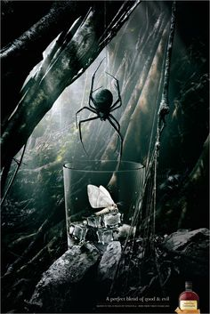 Diageo Australia Pampero: Spider / A perfect blend of good and evil.