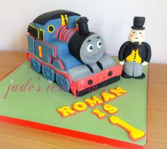 Thomas the tank engine cake The fat controller