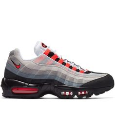 672b7598ced Nike Air Max 95 Og Solar Red Trainer UK