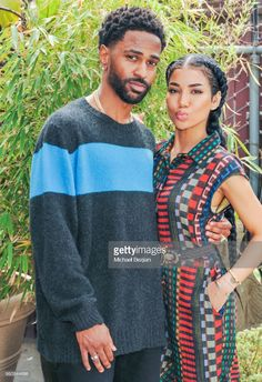 Big Sean & Jhene Aiko from The Big Picture: Today's Hot Photos Sizzling couple! The duo pose together at the NAMI West LA Moroccan Gala. Black Love Couples, Cute Couples, Mixed Couples, Celebrity Couples, Celebrity Photos, Big Sean And Jhene, Black Relationship Goals, Freaky Relationship, Jhene Aiko