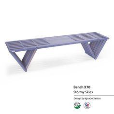 touchGOODS Wooden Bench X70
