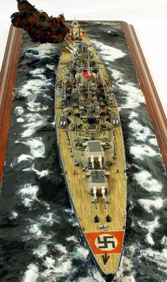 Battleship Bismarck 1/350 Scale Model