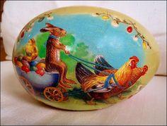 traditional Matryoshka Doll, Egg Art, Egg Decorating, Vintage Easter, Egg Shells, Easter Decor, Rabbits, Spring Time, Easter Eggs