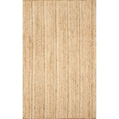 nuLOOM Hand-Woven Rigo Jute Area Rug or Runner - Walmart.com - Walmart.com Natural Area Rugs, Natural Rug, Home Depot, Oval Rugs, Affordable Rugs, Machine Made Rugs, Jute Rug, Large Area Rugs, Cow Hide Rug
