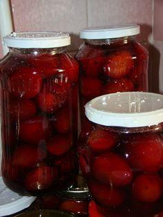 Cristina's world: Compot de prune cu indulcitor Vegetables, World, Roman, Dukan Diet, Canning, Vegetable Recipes, The World, Veggies