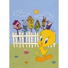 PAPEL PINTADO TWEETY BIRDS 904 LOONEY TUNES